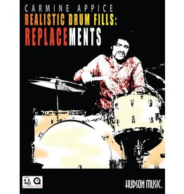 Hal Leonard - Realistic Drum Fills: Replacements, Carmine Appice, Book & CD