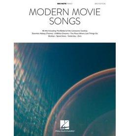 Hal Leonard - Modern Movie Songs, Big-Note Piano