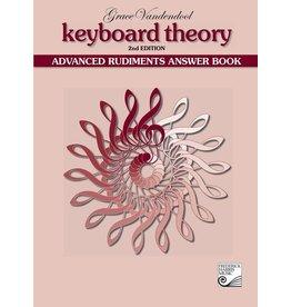 Keyboard Theory Answer Book, Advanced Rudiments (2nd edition)