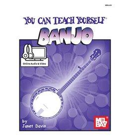 Mel Bay - You Can Teach Yourself Banjo, w/media