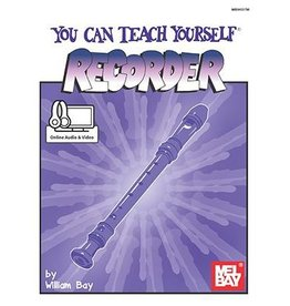 Mel Bay - You can teach yourself Recorder w/ Online Audio