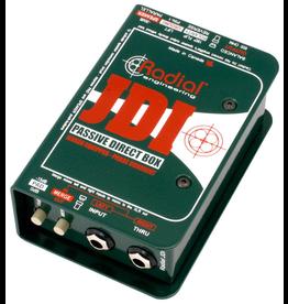 Radial - JDI Jensen Equipped Passive DI Box