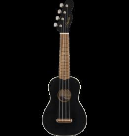 Fender - Venice Soprano Ukulele, Black