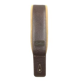 Godin - Leather Strap, Brown/Tan Padded Leather & Suede