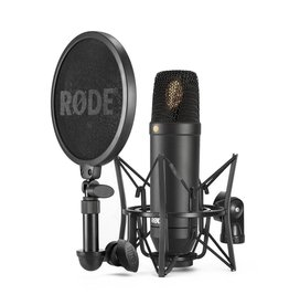 Rode - NT-1 KIT Condenser Microphone w/Shockmount and Pop Filter