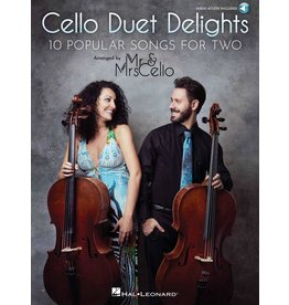 Hal Leonard - 10 Popular Songs for Two, Arranged by Mr & Mrs Cello