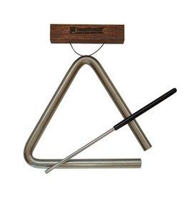 "Treeworks - 6"" Studio-Grade Triangle w/ Beater"