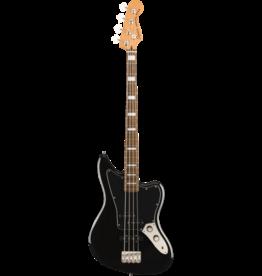 Squier - Squier Classic Vibe Jaguar Bass, Laurel Fingerboard, Black
