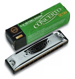 Seydel - Concerto Solo, Octave Harmonica, Key of D