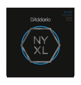 D'Addario - NYXL Nickel Wound, 12-52 Light w/Wound 3rd