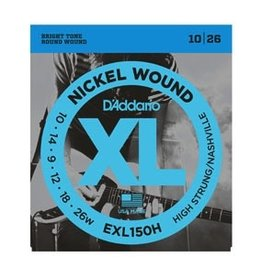 D'Addario - XL Nickel Wound, High Strung/Nashville Tuning