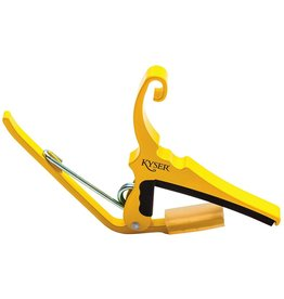Kyser - Quick Change Capo, 6 String, Yellow