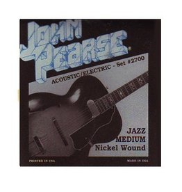 John Pearse - Nickel Wound Electric, 12-52 Jazz Medium