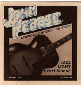 John Pearse - Nickel Wound Electric, 11-50 Jazz Light