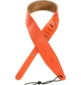 "Levy's - 2.5"" Soft Garment Leather Strap, Orange"