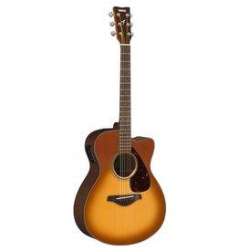 Yamaha - FSX800SC Folk Acoustic, Solid Top, Sand Burst