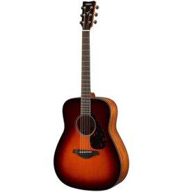 Yamaha - FG800 Acoustic Guitar w/Solid Top, Brown Sunburst