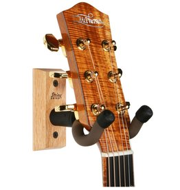 String Swing - Hardwood Home & Studio Guitar Keeper, Oak