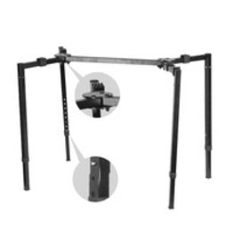 - Deluxe 4 Leg Collabsible Keyboard Stand
