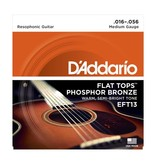 D'Addario - EFT13 Flat Tops, Resophonic Guitar Strings