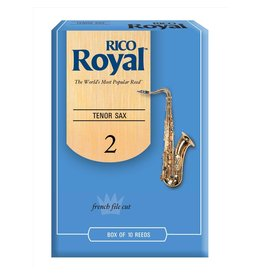 Rico - 10 Pack of Tenor Saxophone Reeds, 2