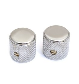 Fender - Original Vintage Dome Tele Knobs, Chrome (2 Pack)