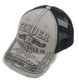 Fender - Strat Trucker Hat, Grey, Onesize