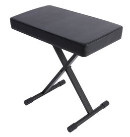 On-Stage - Deluxe X-Style Adjustable Keyboard Bench