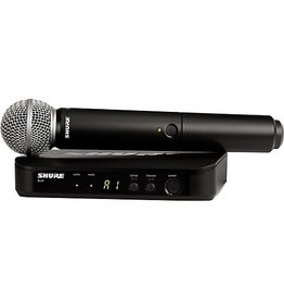 Shure - BLX Wireless System w/SM58 Handheld Transmitter