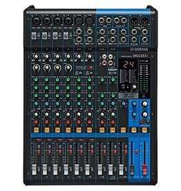Yamaha - MG12XU 12 Channel Analog Mixer w/Digital Effects
