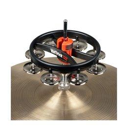 Rhythm Tech - HatTrick Mountable Tambourine, Black