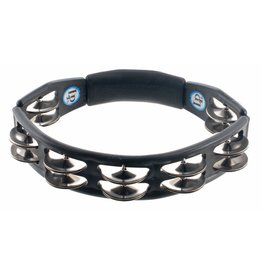 LP - Cyclops Hand Held Tambourine, Steel Jingles, Black
