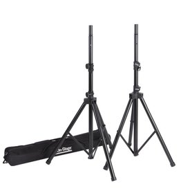 On-Stage - Aluminum Speaker Stands, Pair w/Bag
