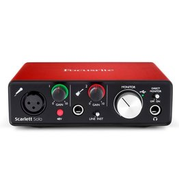 Focusrite - Scarlett Solo MK2 USB Audio Interface