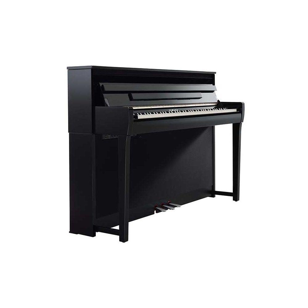 yamaha clavinova clp 685 digital piano polished ebony janzen brothers music company. Black Bedroom Furniture Sets. Home Design Ideas