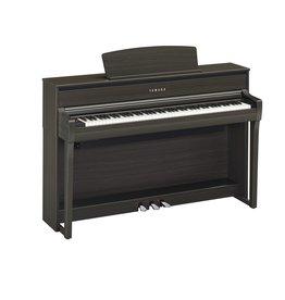 Yamaha - Clavinova CLP-675 Digital Piano, Dark Walnut