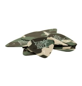 Ernie Ball - Pick Pack, Camo, Thin, 12 Pack