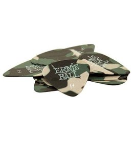 Ernie Ball - Pick Pack, Camo, Heavy, 12 Pack