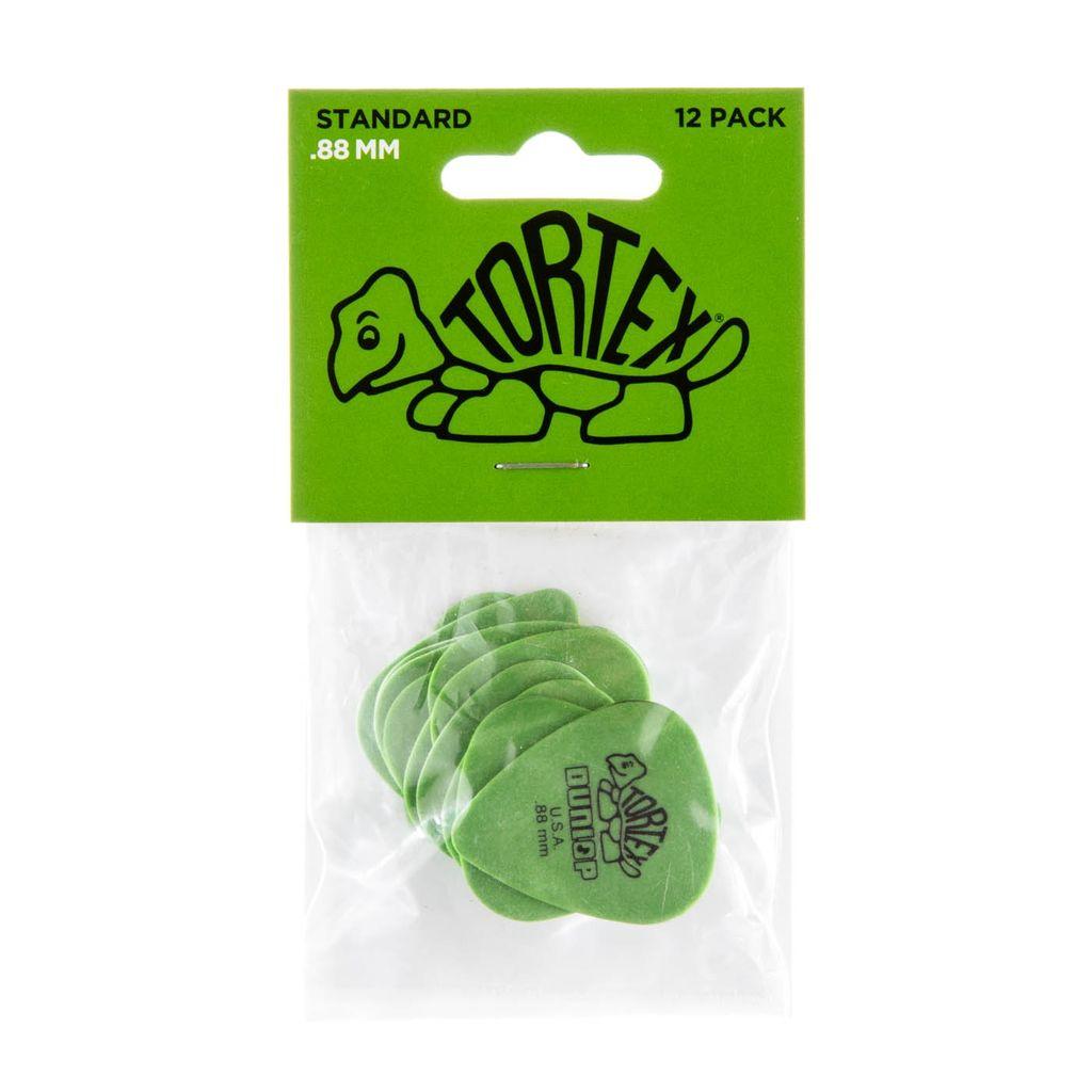 Jim Dunlop - Tortex Standard Player's 12 Pack, Green (.88)