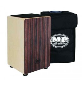 MP - Ebony Stripe Veneer Cajon w/bag