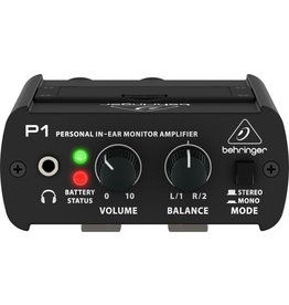 Behringer - POWERPLAY P1, Personal In-Ear Monitor Headphone Amplifier