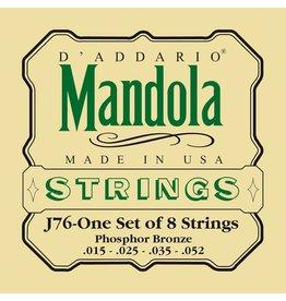 D'Addario - Phospher Bronze, 15-52 Mandola