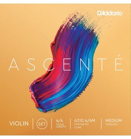 D'Addario - Ascente Violin Strings, 4/4