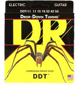 DR Strings - DDT Electric Strings, 11-54 Extra Heavy