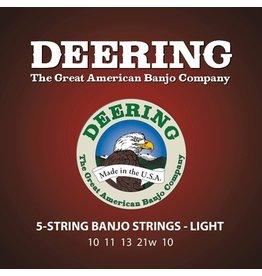Deering - 5 String Banjo Strings, Light