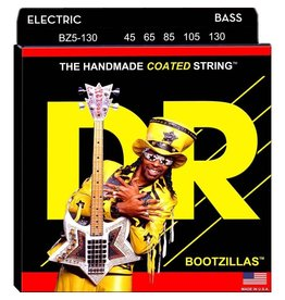 DR Strings - Bootzillas Coated 5 String Bass, 50-130