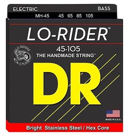 DR Strings - Lo-Rider 4 String Bass, 45-105