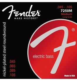Fender - Nickel Plated Steel Bass Strings, 45-105 Medium
