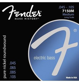 Fender - Pure Nickel Bass Strings, 45-105 Medium