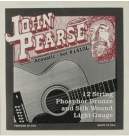 John Pearse - Phosphor Bronze & Silk 12 String 10-49 Light